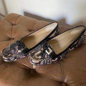 Ellen Tracy - Wanda Snake skin dress loafers